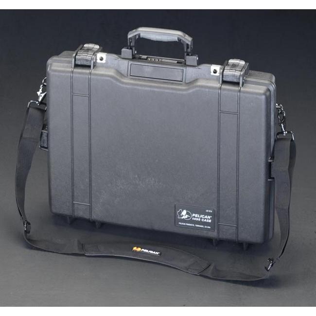 ESCO エスコ 480x332x96mm/内寸防水パソコンケース