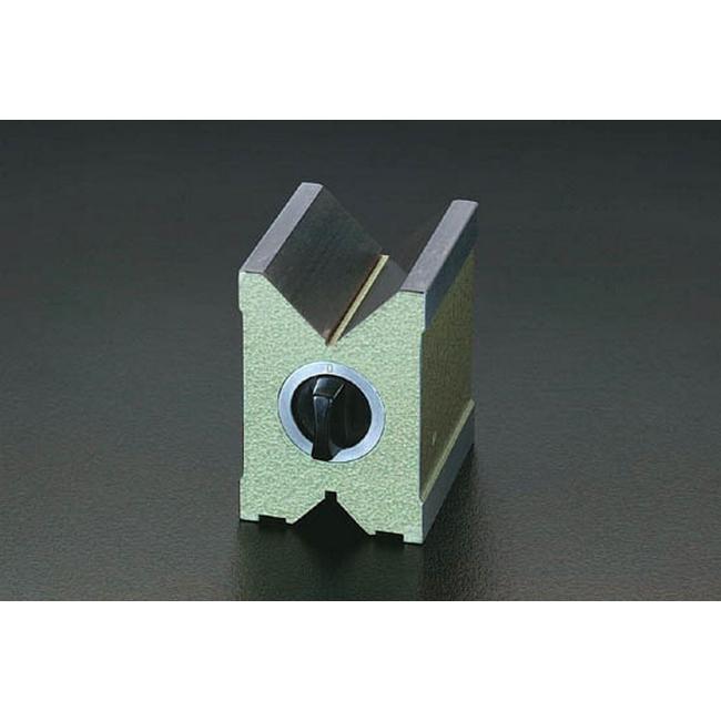 ESCO エスコ その他の工具 6/70mm/100mmVブロック(マグネット)