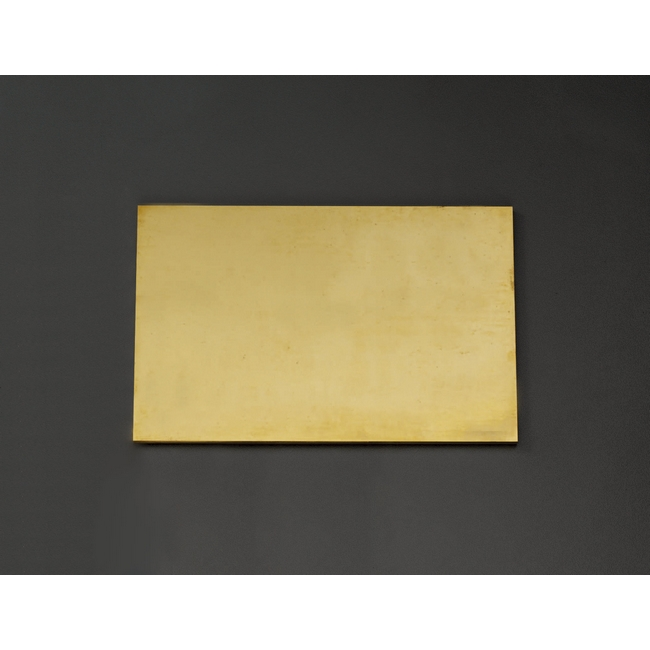 ESCO エスコ 工具 300x300x10mm黄銅板