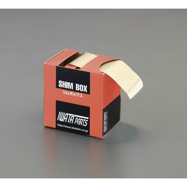 ESCO エスコ その他の工具 0.1x100mmx2m[真鍮製]シムボックス