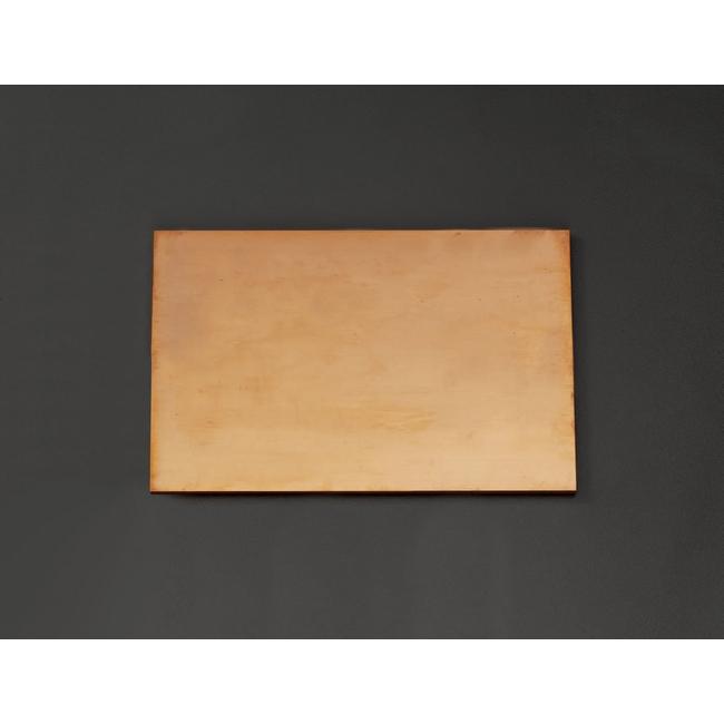 ESCO エスコ 300x300x6mm銅板