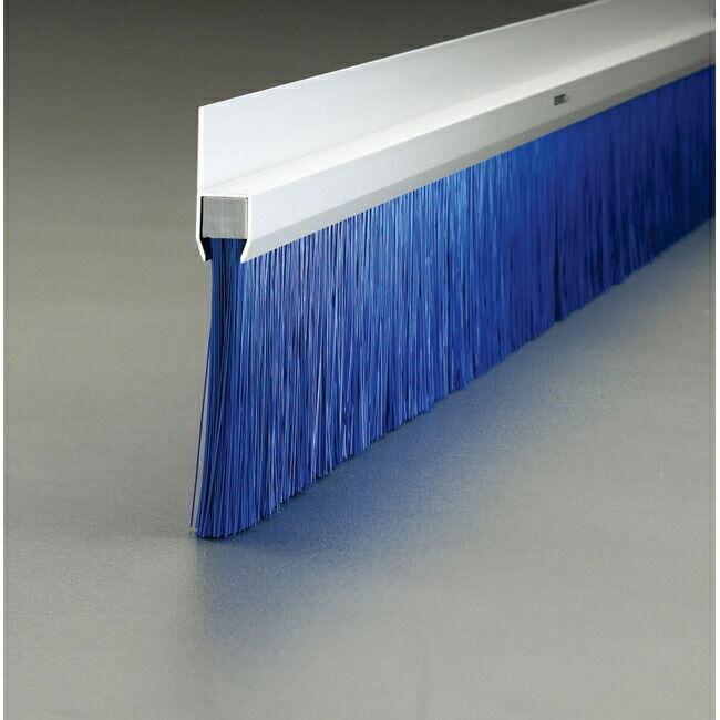 ESCO エスコ 100mmx1m[PBT]シールブラシ(青)