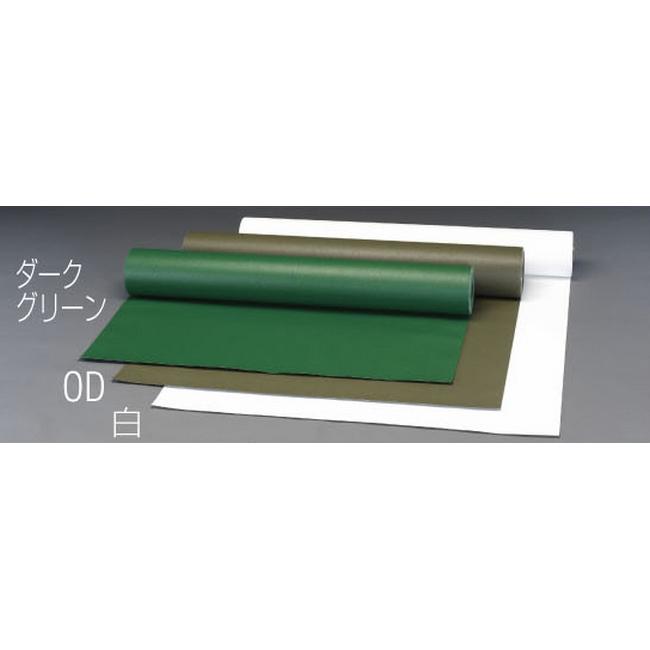 ESCO エスコ 1030x0.56mmx25mポリエステル帆布(ODグリーン)