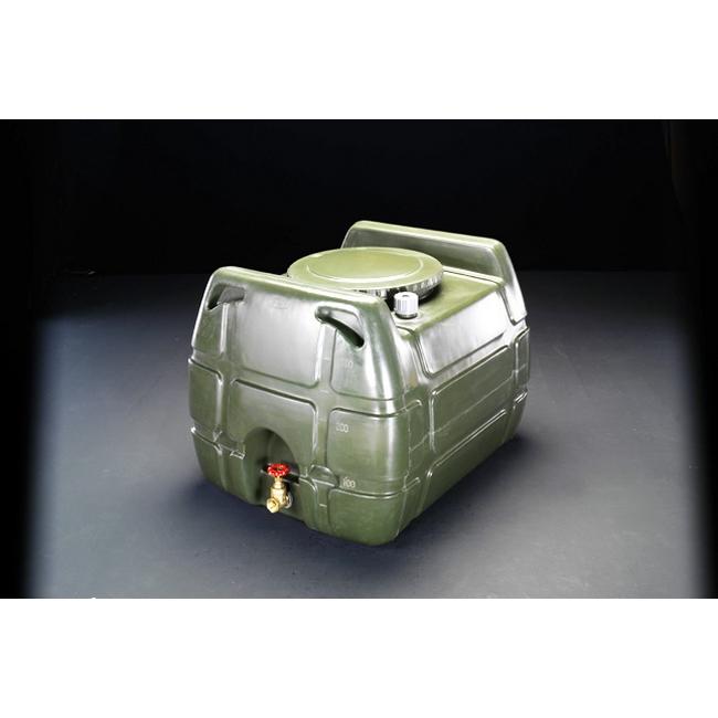 ESCO エスコ その他の工具 200Lポリエチレン給水容器(バルブ付/OD色)