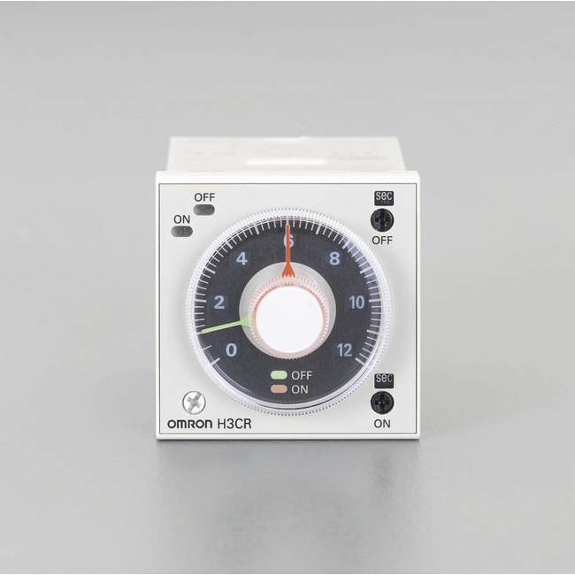 ESCO エスコ AC100-240Vツインタイマー(11ピン)