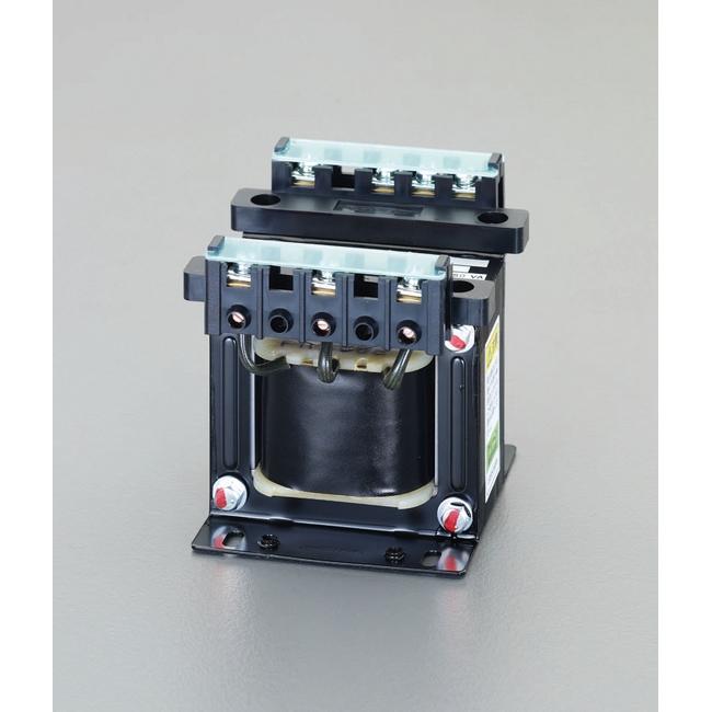 ESCO エスコ 200VA/100V・110Vダウントランス(保護シールド付)