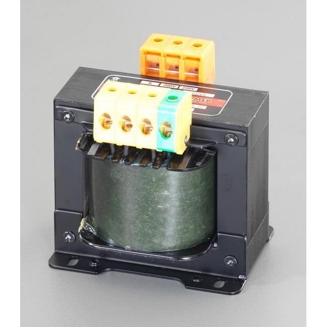 ESCO エスコ 1.0KVA静電シールド付電源トランス