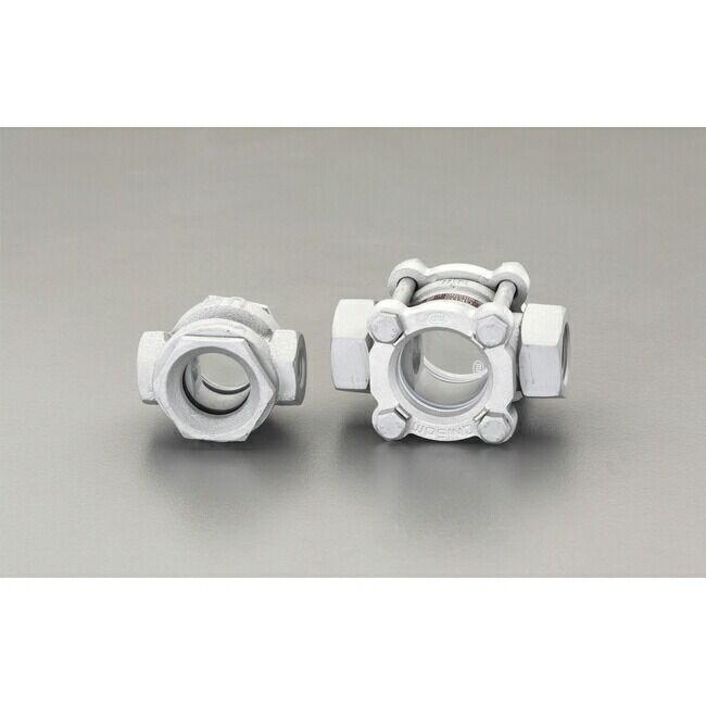 ESCO エスコ PT3/8 [透視式]サイトグラス(ダクタイル製)