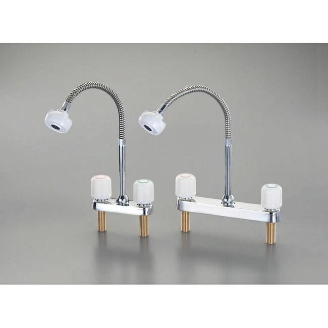 ESCO エスコ 2ハンドル混合栓(シャワー付)