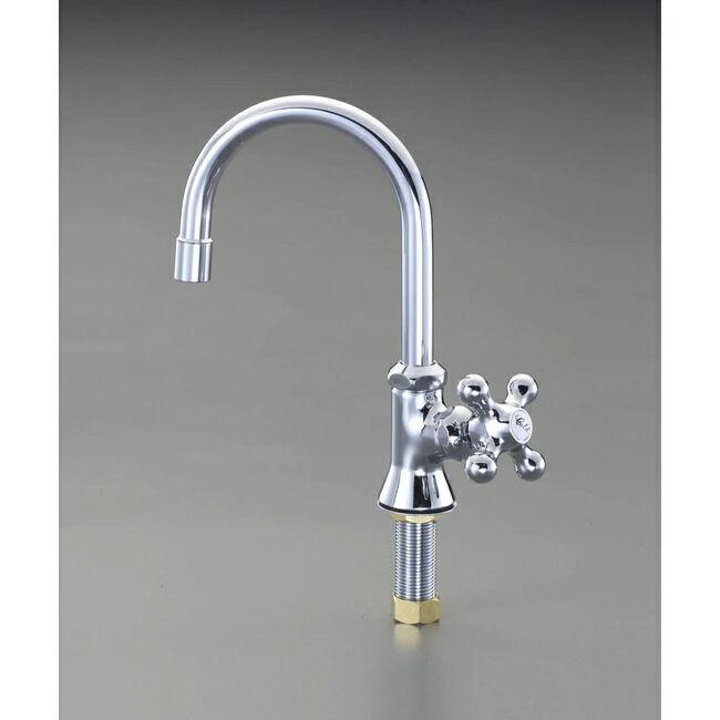 ESCO エスコ その他の工具 PJ1/2 立形スワン水栓