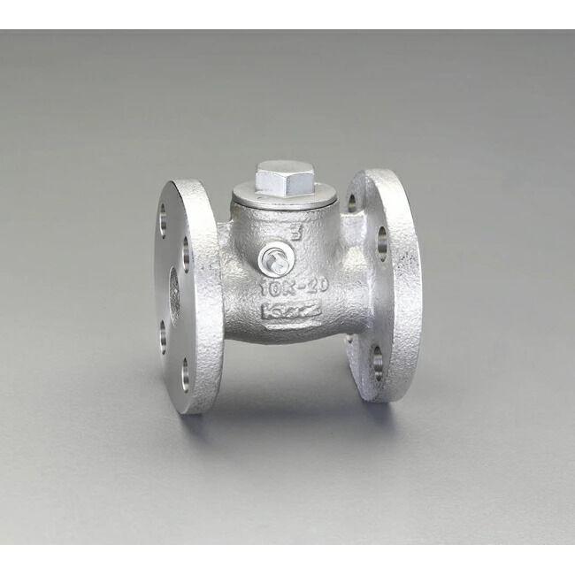 ESCO エスコ その他の工具 1 スイングチャッキバルブ(フランジ型)