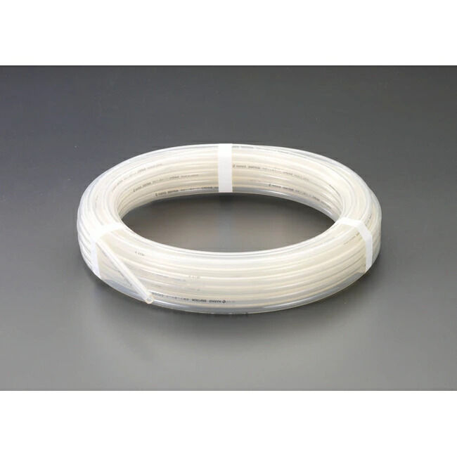 ESCO エスコ 6.0/9.0mmx20mフッ素樹脂ホース(2フッ化系)