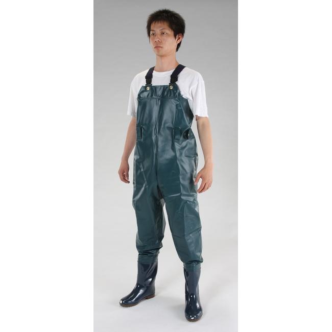 【クーポン配布中】ESCO エスコ 26.0cm耐油水中長靴(グリーン)