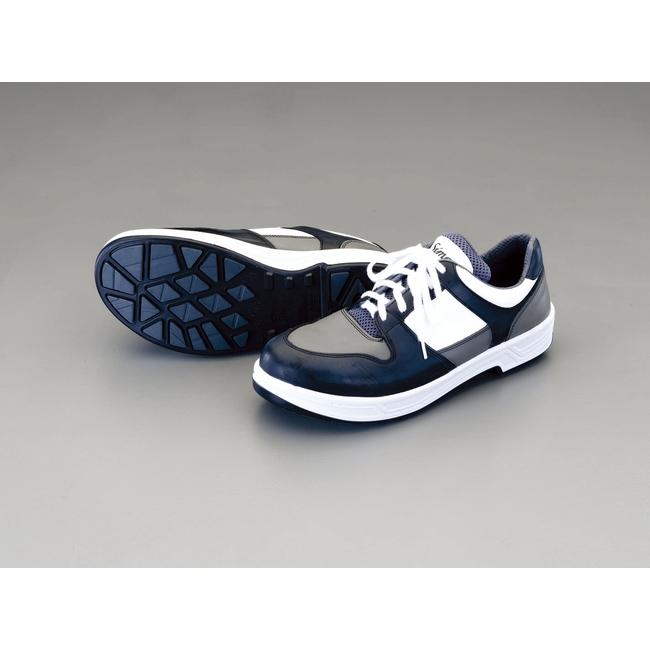 ESCO エスコ 24.5cm[静電・耐油底]安全靴[紐式]