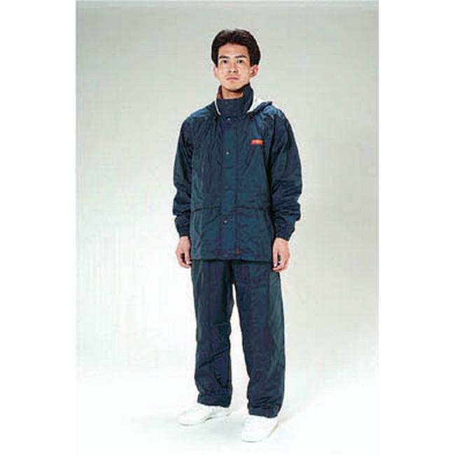 ESCO エスコ [3L]透湿型レインスーツ(ネイビー)