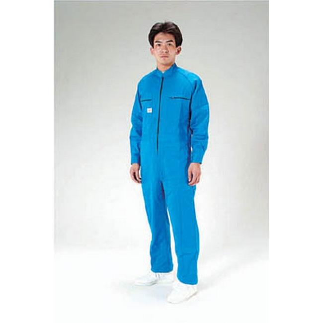 ESCO エスコ [LL]継ぎ作業服(青)