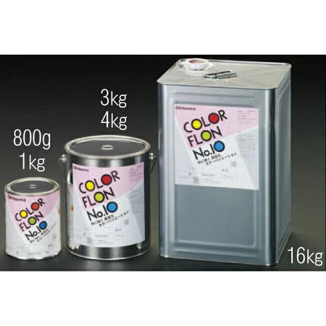 ESCO エスコ 3kg[半艶]耐熱塗料[メタリックシルバー]
