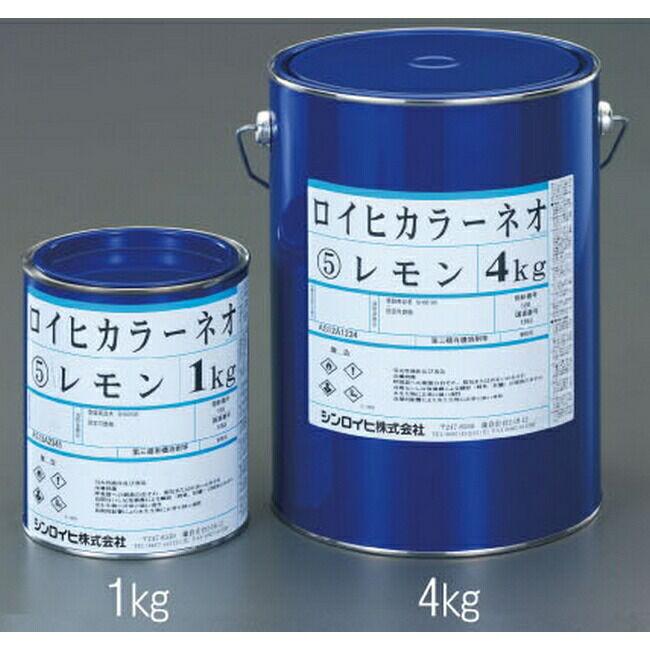 ESCO エスコ その他の工具 4kg油性蛍光塗料[レモン]
