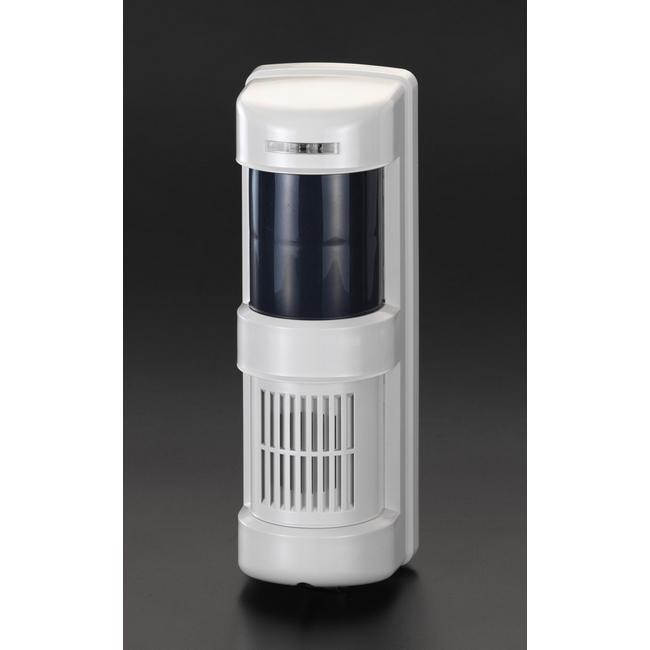 ESCO エスコ その他の工具 AC100V人感センサーアラーム(防雨型)