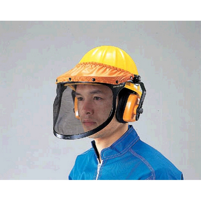 ESCO エスコ その他の工具 ヘルメット付防災面