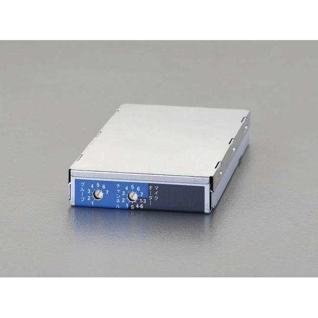 ESCO エスコ ワイヤレスアンプ用チューナーユニット(800MHz帯)