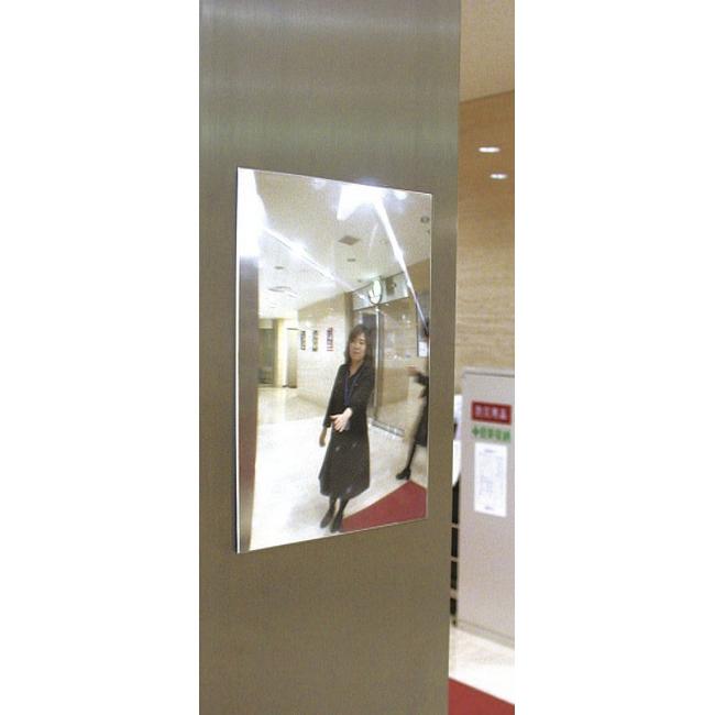 ESCO エスコ その他の工具 145x205x2.5mmエレベーター用安全ミラー(0-10度)