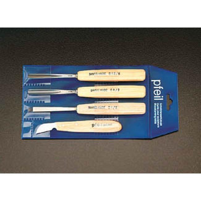 ESCO エスコ 4本組彫刻刀