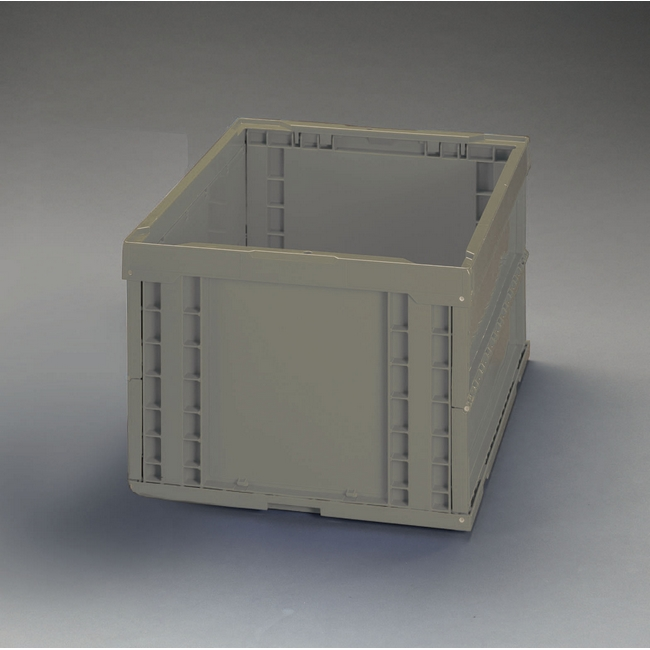 ESCO エスコ 工具 469x439x327mm/74.0L折畳コンテナ(OD/5個)