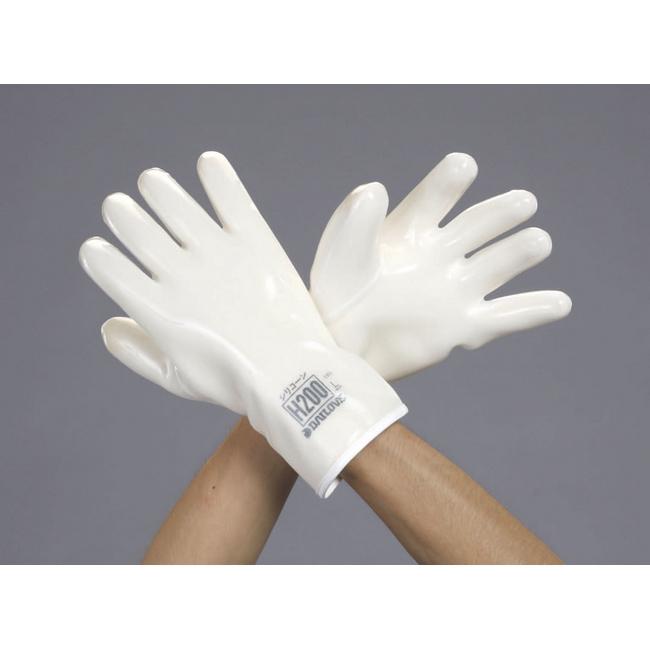 ESCOエスコ 卓抜 ■工具類 L シリコン製耐溶剤手袋 未使用品 ESCO エスコ