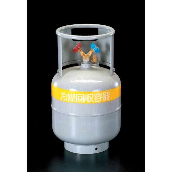 ESCO エスコ 21.0L[R-410A.407C.134A]回収容器