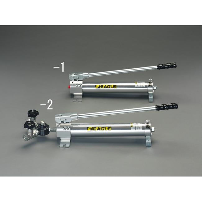 ESCO エスコ 800cc手動油圧ポンプ(1連)