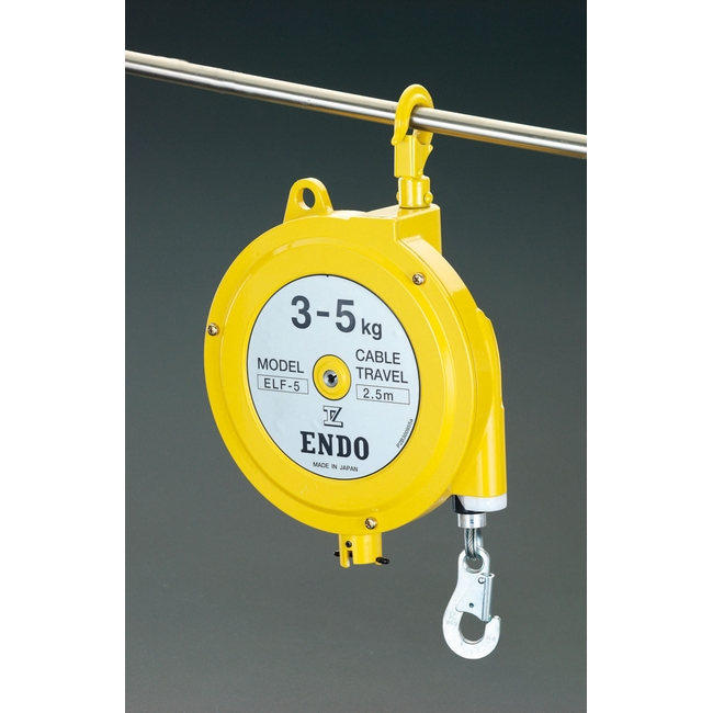 ESCO エスコ その他の工具 5.0-9.0kg/2.5mスプリングバランサー