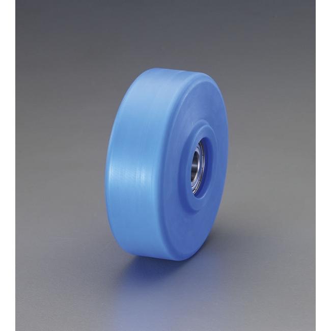 ESCO エスコ 130x42mm[ステンレスベアリング]MCナイロン車輪