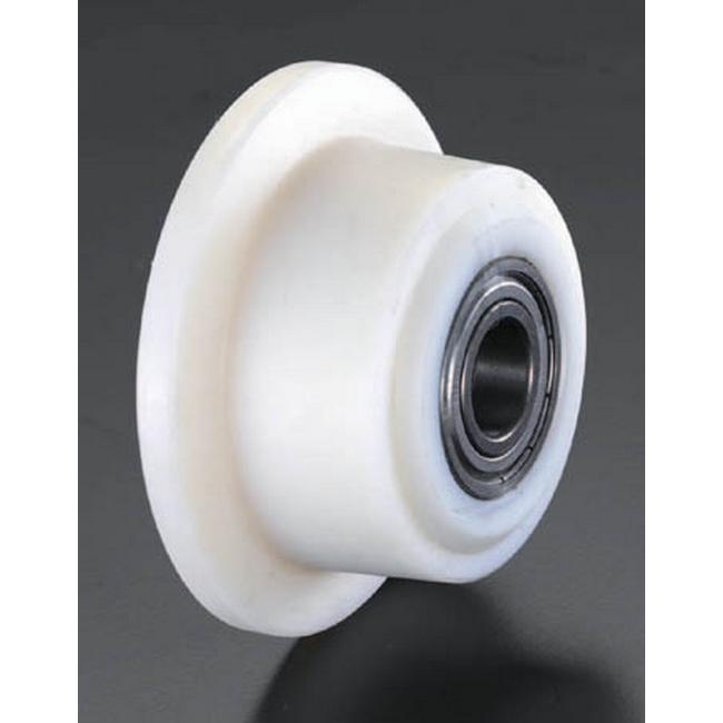 ESCO エスコ 100mmレール用車輪(ポリアミド製)