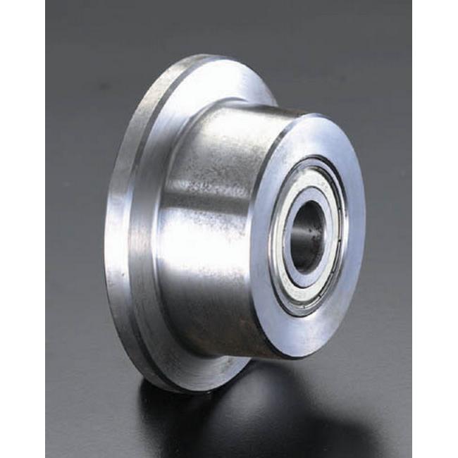 ESCO エスコ 工具 125mmレール用車輪(ソリッド・スティール製)