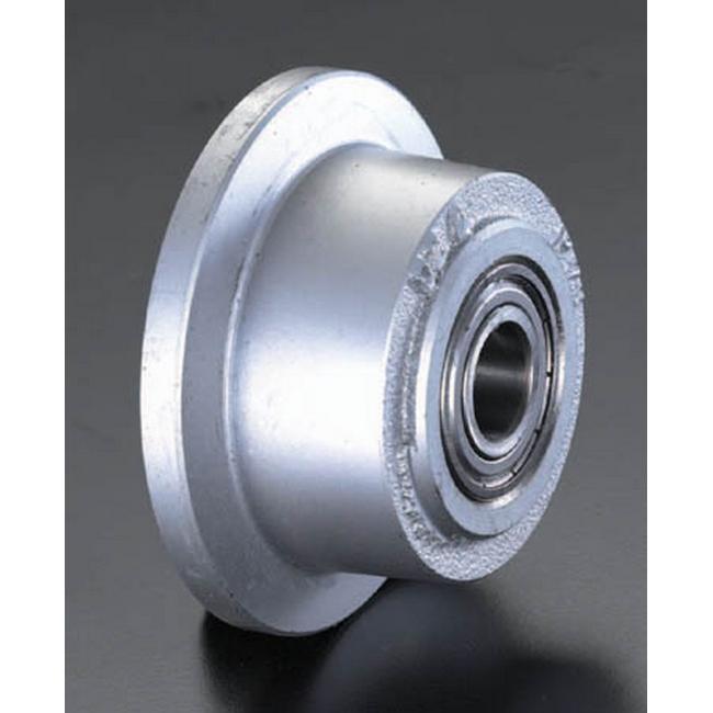 ESCO エスコ その他の工具 200mmレール用車輪(スティール製)