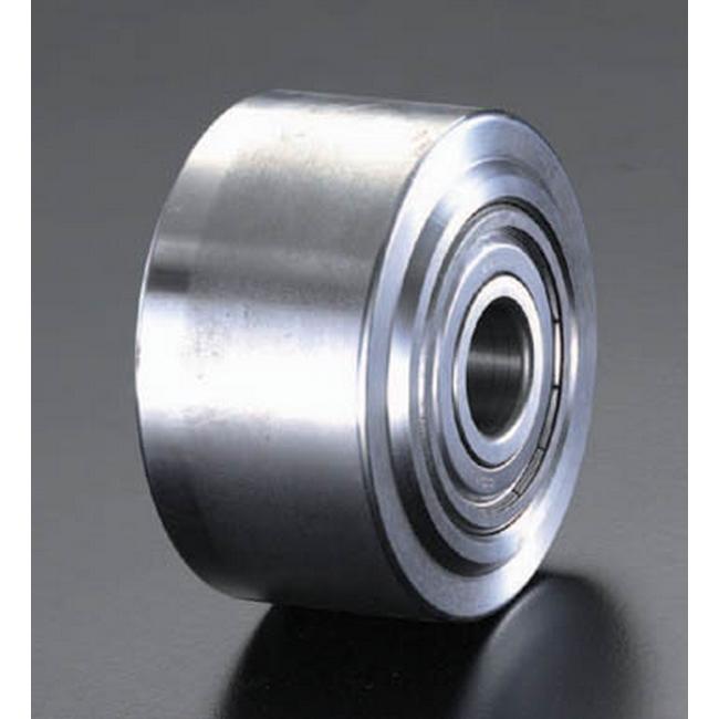 ESCO エスコ 80x40mm車輪(ソリッド・スティール製)