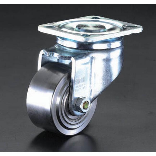 ESCO エスコ その他の工具 125mm[自在金具]スティール車輪キャスター
