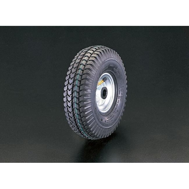 ESCO エスコ 300x100mm[エアー入]スティール車輪