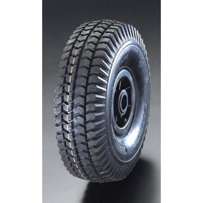 ESCO エスコ 400x100mm[エアー入]ポリプロピレン車輪