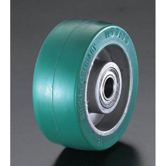 ESCO エスコ 工具 160x50mm[ポリウレタンタイヤ]アルミ車輪