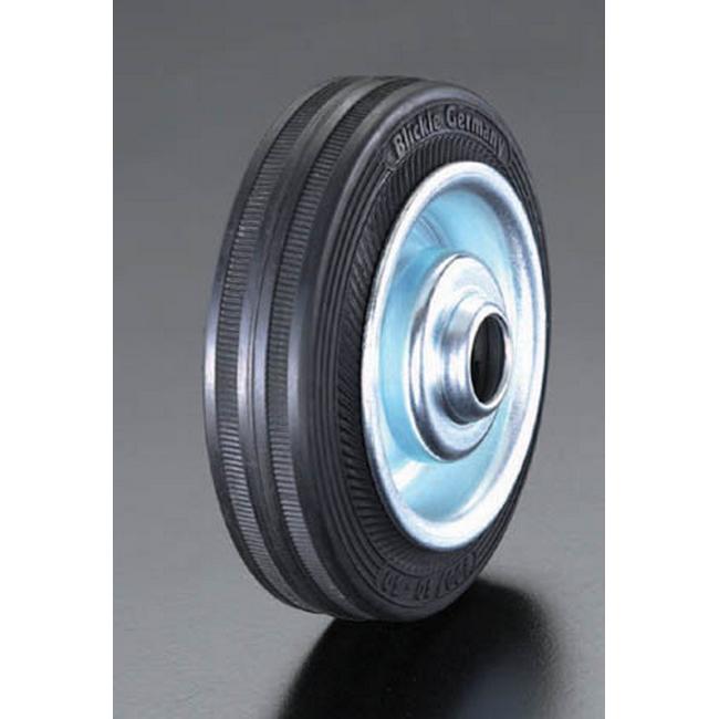 ESCO エスコ 280x70mm[ラバータイヤ]スティール車輪