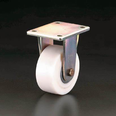 ESCO エスコ 200mm固定金具キャスター ナイロン車輪 クリスマス 金婚式 ハロウィン 米寿祝 成人式 当店おすすめ