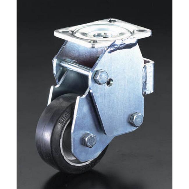 ESCO エスコ その他の工具 160mm固定金具キャスター(スプリング付)