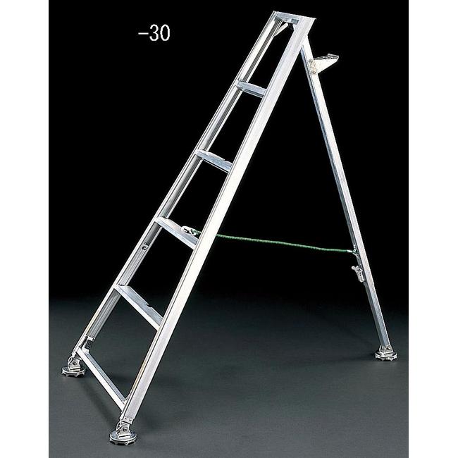 ESCO エスコ その他の工具 3.25-3.69m[果樹園用]脚立