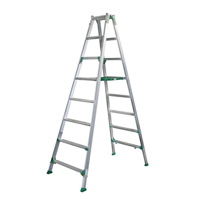 ESCO エスコ その他の工具 2.6m[伸縮式]脚立(ワイドステップ)