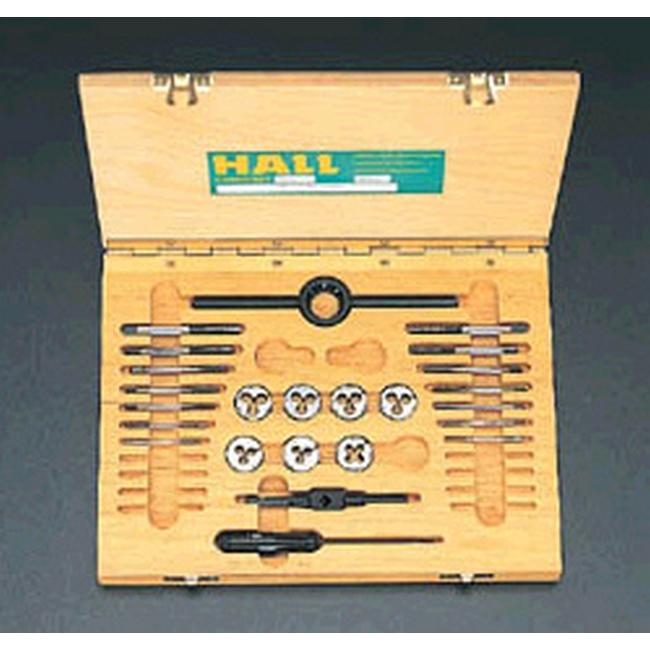 ESCO エスコ その他の工具 M2-M6/ISOタップダイスセット(HSS)