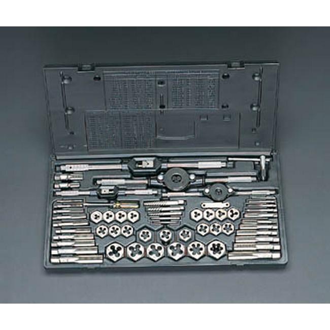 ESCO エスコ その他の工具 M3-M18タップダイスセット