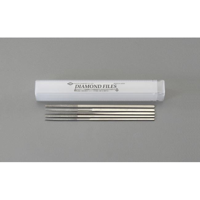 ESCO エスコ その他の工具 170mm12本組ダイヤモンドヤスリ5種類セット