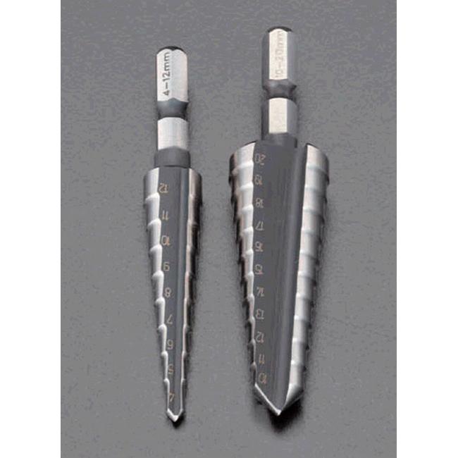 ESCO エスコ その他の工具 10-20mmステップドリル(六角軸)